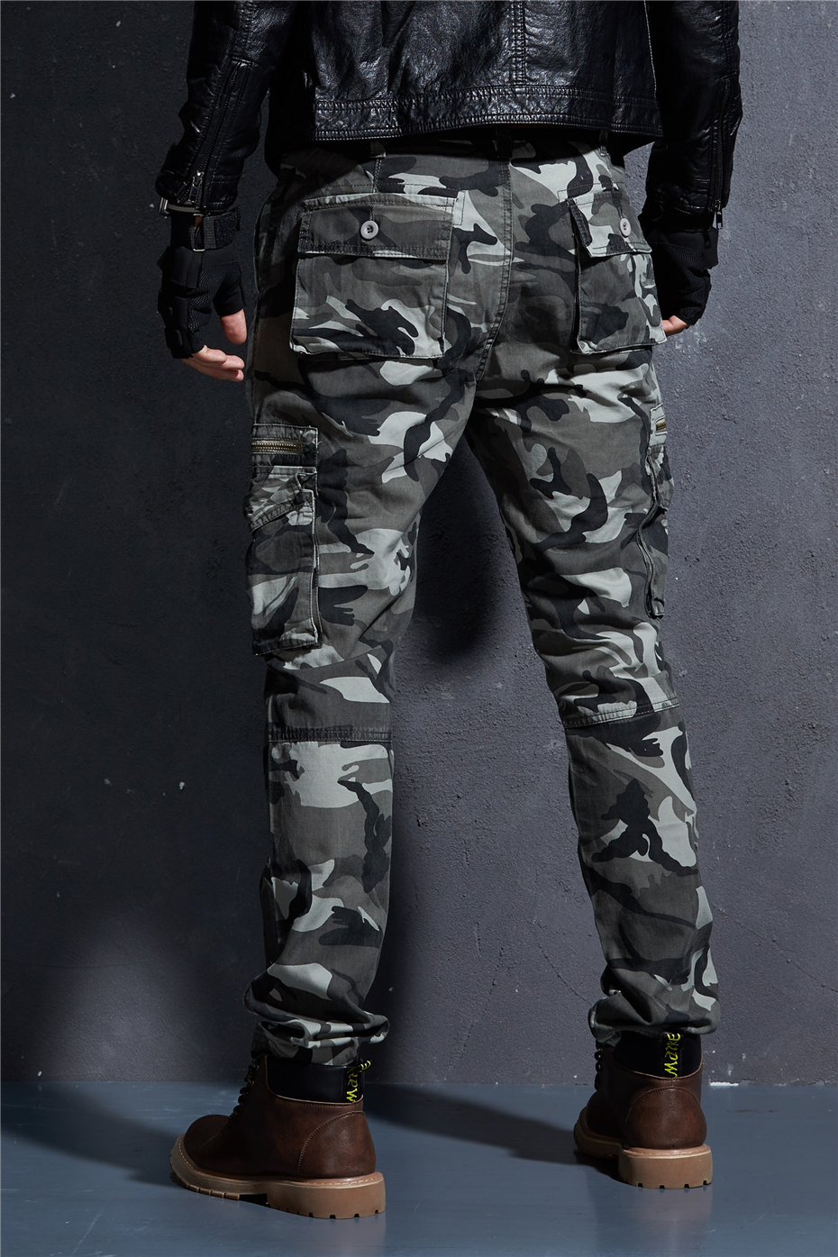 Jack Military Tactical Camo Cargo Pants