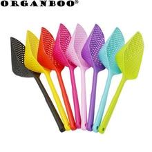 ORGANBOO 1 шт. нейлон+ пластиковый фильтр для воды совок сливная лопата, Лед Лопата рыболовный дуршлаг kichen гаджет аксессуары