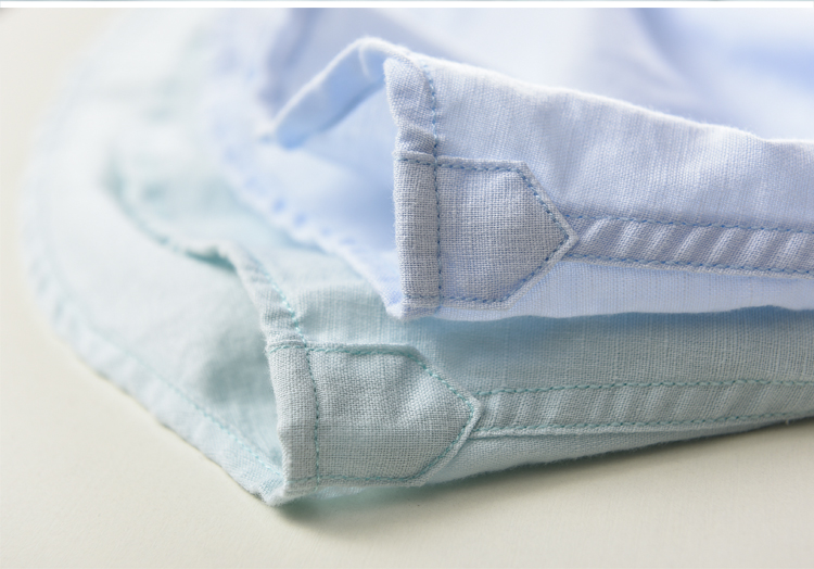 Suhaiwe moda moške slim majica z dolgimi rokavi posteljnina srajco - Moška oblačila - Fotografija 5