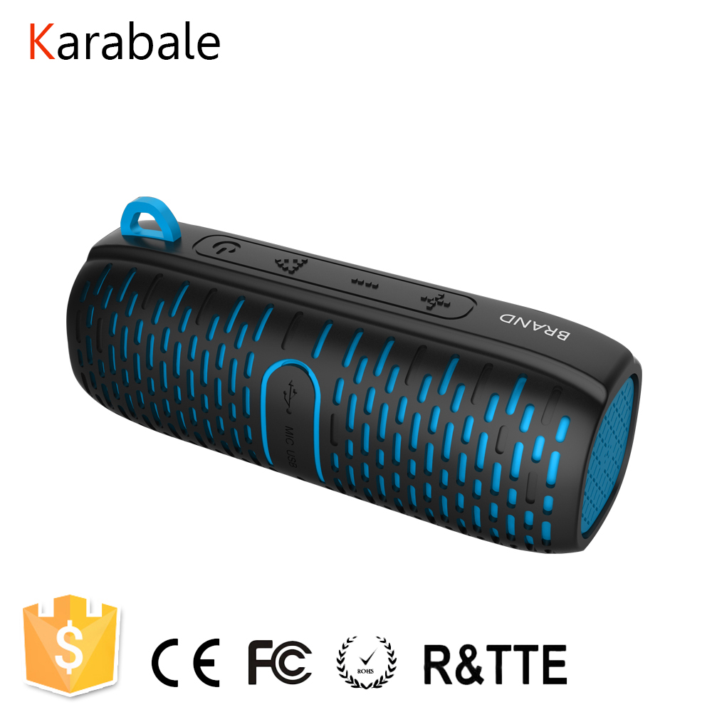 Subwoofer Speaker Sound-Units Stereo Waterproof Outdoor Portable Bluetooth-4.1 Wireless