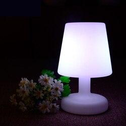 Wiederaufladbare LED Tisch Schreibtisch Licht IP65 Wasserdicht Bar Party Decor Home Beleuchtung RGB Bunte LED Nacht Lampe Durch Fernbedienung