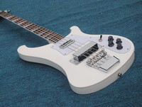 Chinese electric guitar, high quality bass white 4 string electric bass guitar, rosewood fingerboard, factory can be customized