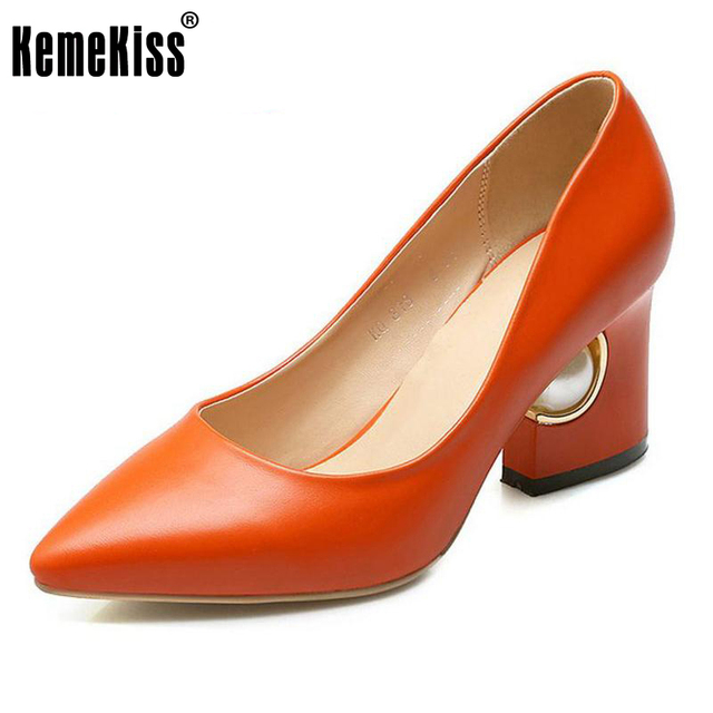 women high heel shoes spring ladies new arrival fashion quality dress footwear office work fashion heels shoes size 34-43 P22984