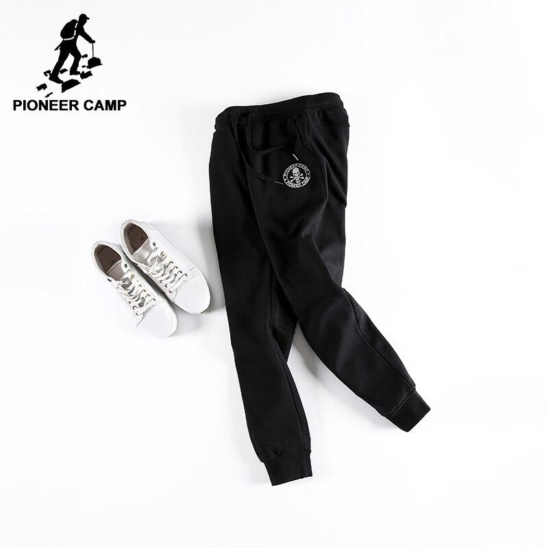 Pioneer Camp d'hiver hommes pantalon épaissir polaire pantalon marque vêtements 2018 nouvelle mode casual coton ouaté mâle qualité pantalon 699028