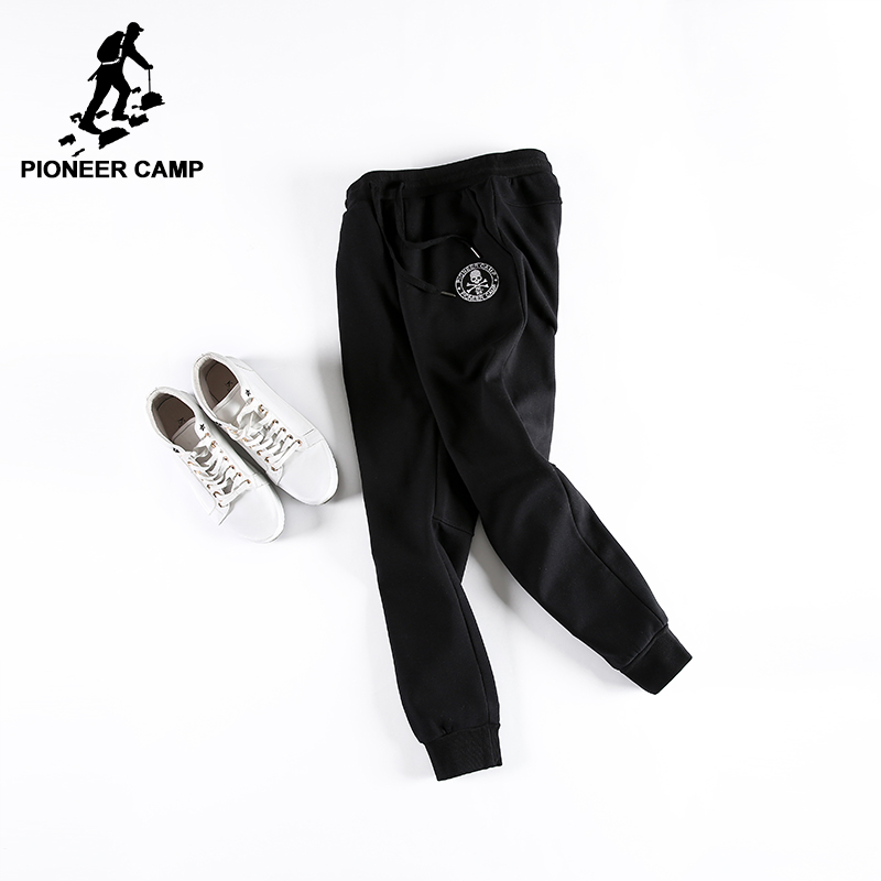 Pioneer Camp winter men pants thicken fleece trousers brand clothing 2018 new fashion casual sweatpant male quality pants 699028