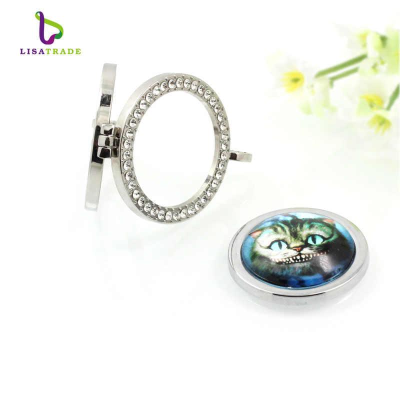 33 mét Glass Coins Pendant Cho Moneda vòng cổ mặt dây chuyền/Coin khung/coin disc/Mentun locket 5 cái/lốc MICO251-254 * 5