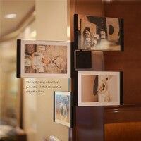 TTLIFE Ücretsiz Kargo 2 ADET Klasik Resim Çerçevesi Fotoğraf Için DIY Fotoğraf Çerçeveleri Düğün Fotoğraf Çerçevesi Duvar Resim Albümü 3 boyutları
