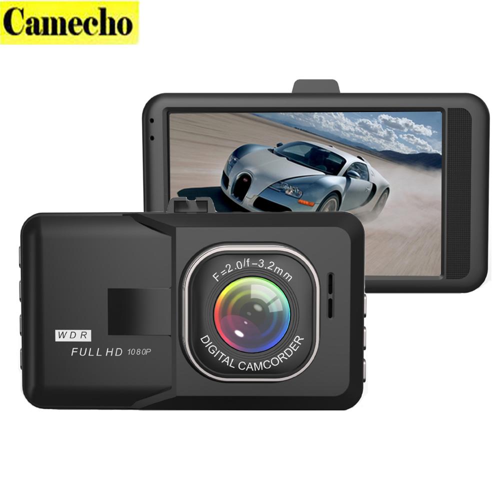 Prix pour 2017 Date 3.0 Pouce Voiture Dvr Full HD 1080 P Dvr greffier Voiture Caméra Vidéo Numérique Caméscope Parking Enregistreur G-sensor Dash Cam