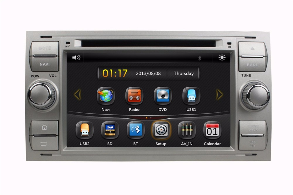 hd 2 din 7 car radio car dvd for ford focus mondeo s max. Black Bedroom Furniture Sets. Home Design Ideas