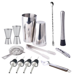 IYOUNICE 13 PiecesStainless Steel Kit Bar Bartender Set