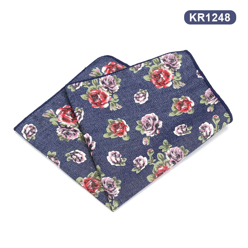 Men Jeans Hankies British Pocket Square Hankerchief Hanky For Wedding Business Party Best Sale-WT
