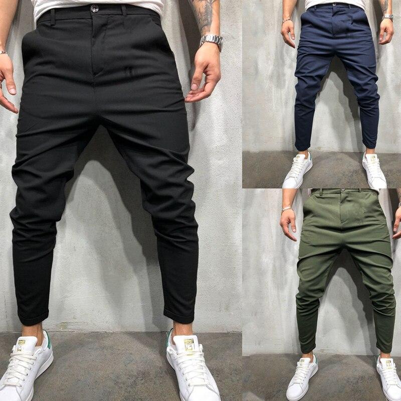 Joggers Pants Men Cargo Pants Men Trousers For Men Brand Clothing Men Casual Pants  2019 Summer Streetwear