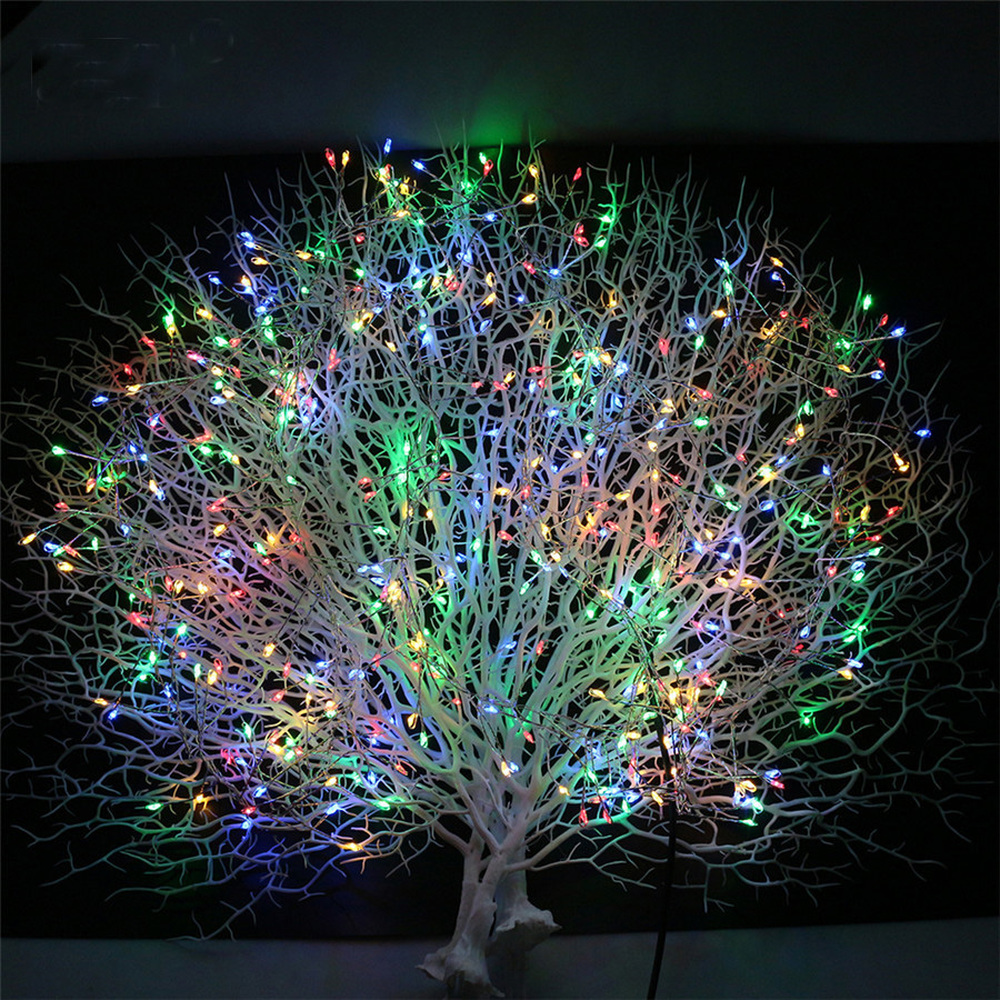 Waterproof Decorative Vine String Lights, 20Strands 400 Leds Hanging Twinkle Fairy Lights With Remote For Garden Christmas Tree