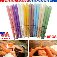 10Pcs Ear Wax Cleaner Removal Coning Fragrance Candles Healthy Hollow Sets NewUS