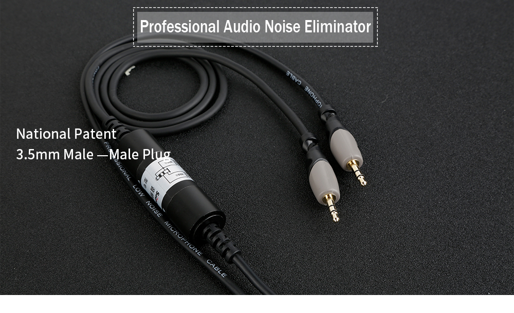 Soundking Audio cable aux 3.5 mm male to male Cable jack 3.5mm Noise Eliminator for car headphone Beats Speaker aux cord MP3 B35