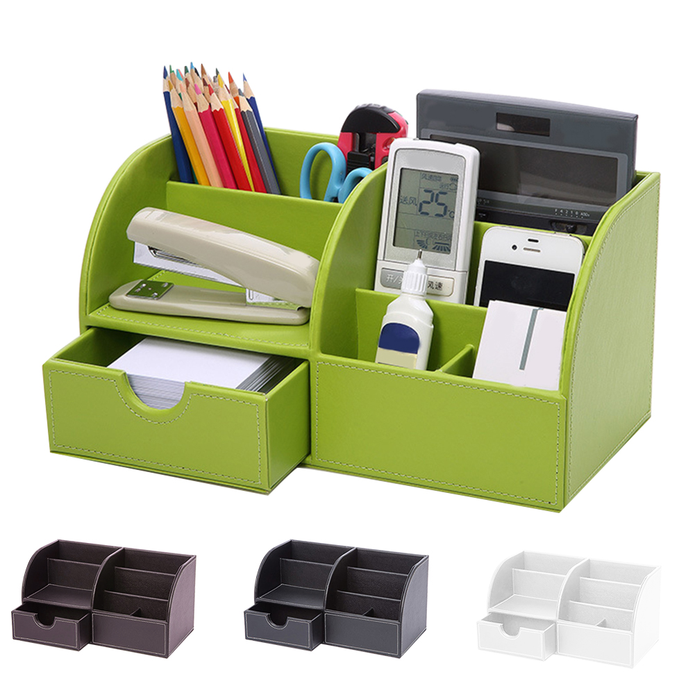 box drawer type cosmetic home office remote controller