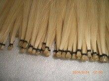 20 Hanks White Violin bow hair in 32 inches 6grams/hank Mongolia Horse hair cello bow hair