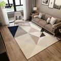 Коврик для гостиной Slow Tree с 3D принтом  светло-серый ковер для дома и спальни  модный геометрический Коврик для ползания детей