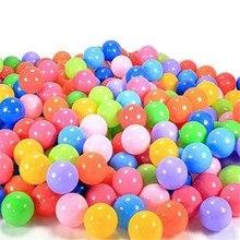 50 шт./пакет Красочный мягкий Плавание бассейн с шариками палатка мяч Пластик игрушки шары для малышей и детей постарше Лидер продаж праздник