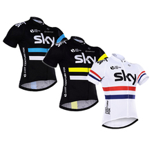 2016 sky Breathable Team Cycling Jersey Set/Quick Dry MTB Racing Bicycle Bike/Riding Clothing For Man  Ropa Ciclismo