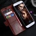 S4 S4 Mini Retro Crazy Horse Leather Flip Case For Samsung Galaxy S4 i9500 S4 mini i9190 Phone Accessories Wallet Stand Cover