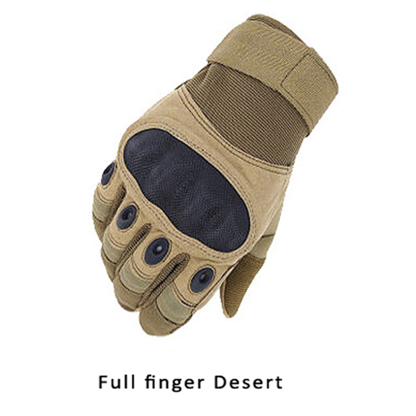 Outdoor Army Military Tactical Motorcycle Hunt Hard Knuckle Full Finger Gloves