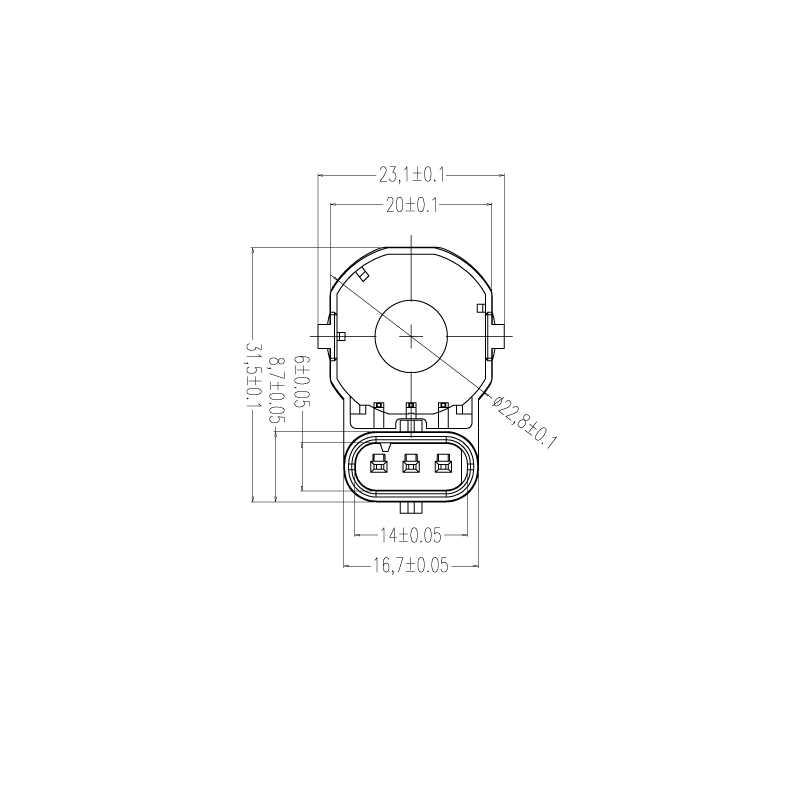 車アクセサリー Pdc 駐車センサー BMW X3 X5 X6 E83 E70 E70 E71 アルファロメオ 66209231287 66209139868 66209233037 reverse センサー