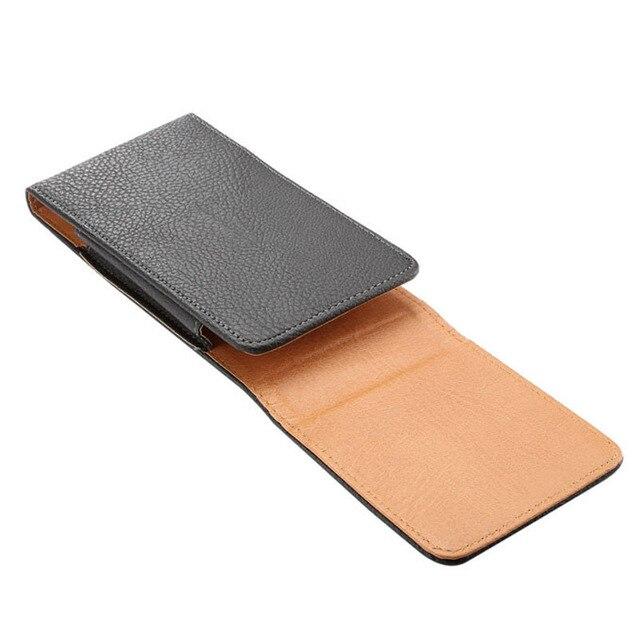 Universal Belt clip Holster for 3.5''~6.3'' Mobile Phone Bag Case Men Waist Bag for iPhone Samsung Huawei Hidden Magnetic Buckle 3