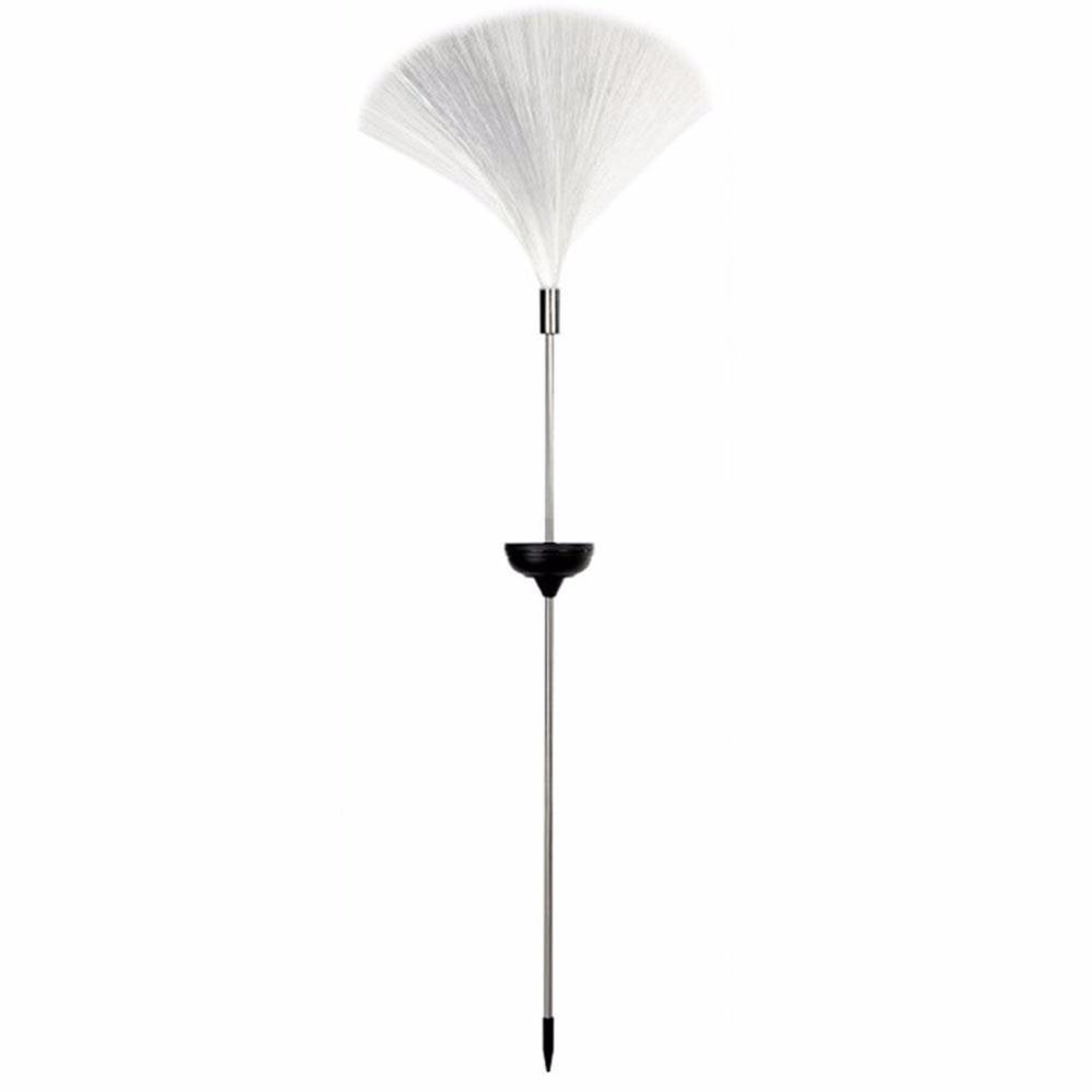 Värikäs LED-vaihtuva kuituoptinen suihkulähde yövalolamppu, joka houkuttelee kotipuutarhan sisustusta