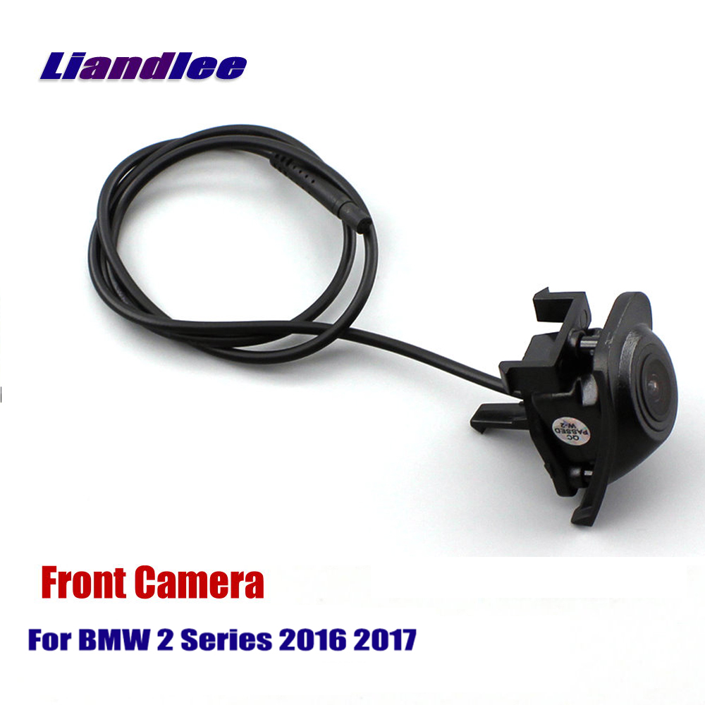 Liandlee Car Front View Camera AUTO CAM Logo Embedded For BMW 2 Series 2016 2017 Not Reverse Rear Parking Camera in Vehicle Camera from Automobiles Motorcycles