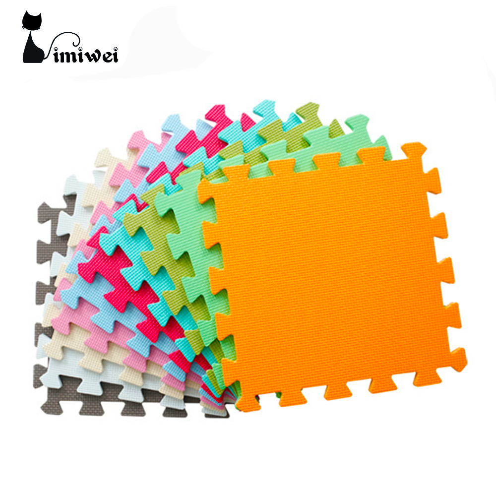 Купить с кэшбэком Kids Toys Puzzle Play+Learning+Safety Mats Baby Toys Kids Rug Toys for Children Carpet Developing Mat Baby Play Mats Playmat