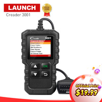 LAUNCH X431 Full OBDII EOBD Diagnostic Tool Creader 3001 OBD2 Code Reader Scanner CR3001 Multi Language