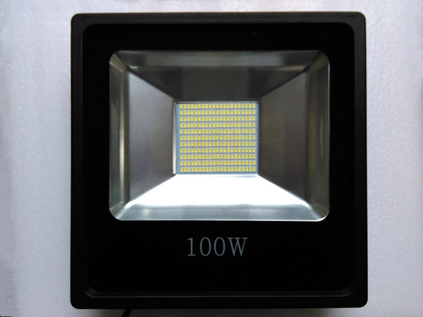 Reflector LED Flood Light 100W Waterproof IP65 220V Led Spotlight Projecteur Led Exterieur Outdoor Lighting ultrathin led flood light 200w ac85 265v waterproof ip65 floodlight spotlight outdoor lighting free shipping