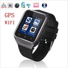 "Relógio Inteligente ZGPAX S8 MTK6572 1.54 ""Android 4.4 Dual Core 5MP CAM 512 MB + 4 GB WiFi GPS MP4 FM Record Phone Smartwatch relógio de Pulso"