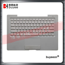 "Original A1181 Top Case US 945 clavier avec pavé tactile pour MacBook 13 ""A1181 Palmrest topcase 2006 2007 royaume-uni français allemand clavier(China)"