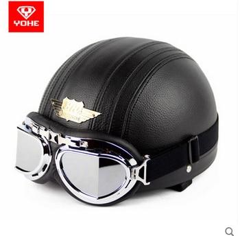 FASHION YOHE motorcycle helmet summer motorbike helmets ABS YH998-1N1 Send FRR glasses 5 Colors 5 size