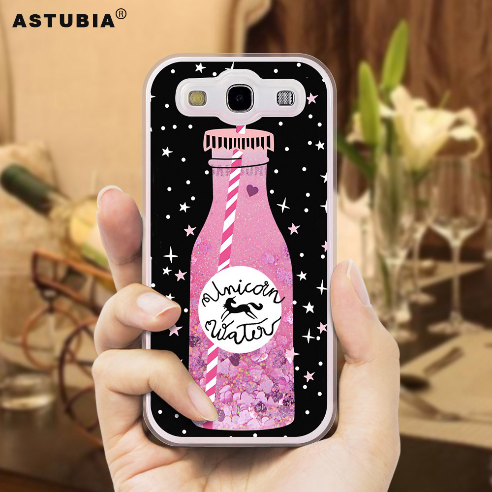 Luxury Glitter Liquid Case For Samsung Galaxy S3 Case i9300 Neo i9301 Duos i9300i Case For Galaxy S3 Cover For Samsung S3 Coque
