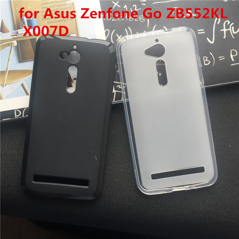Case for <font><b>Asus</b></font> <font><b>Zenfone</b></font> Go ZB552KL <font><b>X007D</b></font> Cover Fundas Para Soft Silicone Phone Cases Protect Plain Back Coque Shell Bag image