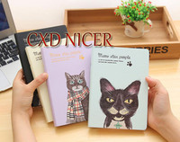 Fresh Illustrations Diary Creative Cute Cat Diary Monthly Weekly Planner Notebook Material Dd1350