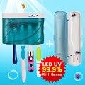 Melhor Kit de UV-C Escova De Dentes Desinfetante Doméstico de Grande Capacidade sg-103a + Esterilizador sg-276 Viagens Portátil escova de Dentes Elétrica Inteligente