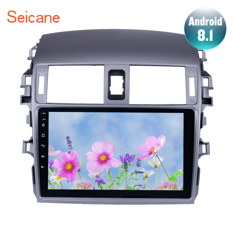 Seicane Android 8.1 2Din Car Radio WIFI Bluetooth Multimedia Player For 2007 2008 2009 2010 Toyota OLD Corolla Support DVR wifiSeicane Android 8.1 2Din Car Radio WIFI Bluetooth Multimedia Player For 2007 2008 2009 2010 Toyota OLD Corolla Support DVR wifi