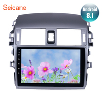 Seicane Android 8.1 2Din Car Radio WIFI Bluetooth Multimedia Player For 2007 2008 2009 2010 Toyota OLD Corolla Support DVR wifi