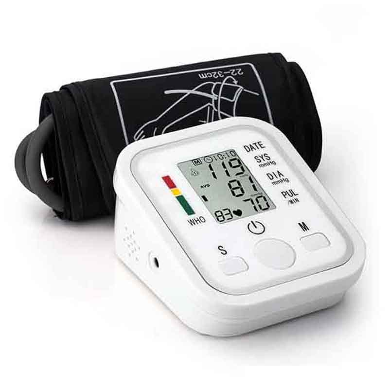 Homeuse Health Care Digital Lcd Upper Arm Blood Pressure Monitor Heart Beat Automatic Meter Machine Sphygmomanometers Pulsometer