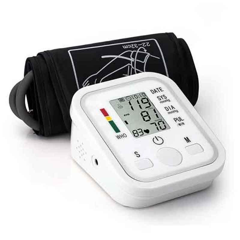 Homeuse Health Care cyfrowy Lcd górny ciśnieniomierz na ramię Heart Beat automatyczny miernik Sphygmomanometers pulsometer