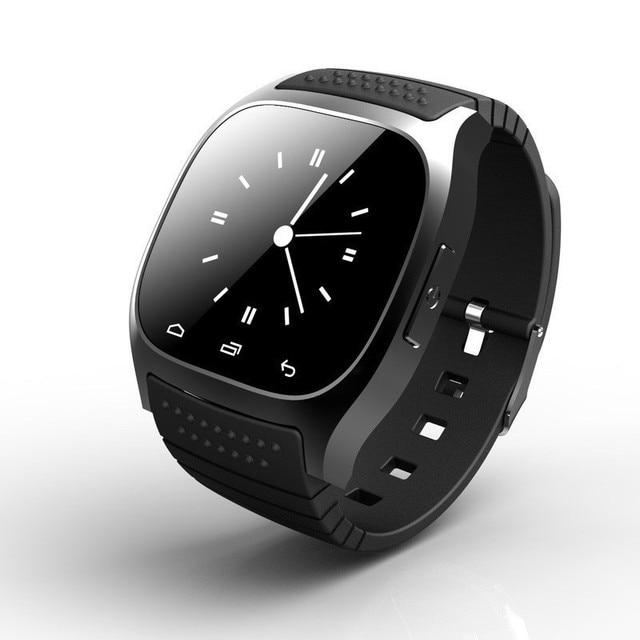 e7b33839195 Bluetooth relógio inteligente relógio de pulso android M26 relógio para  iPhone 6 S 5 5S 6