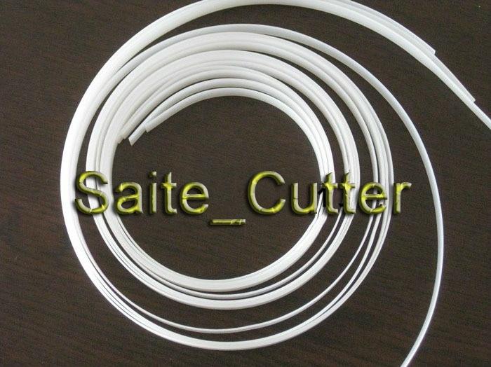 650 mm ilgio 0,8 mm storio, 8 mm pločio pjovimo peiliuko braižytuvo apsauginė juostelė Kinijos vinilo pjaustytuvas Roland pjovimo braižytuvas