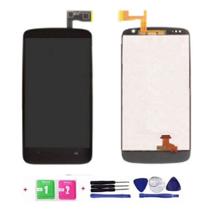 One Piece 100% Tested High Quality For HTC Desire 500 LCD Screen Display Touch Digitizer Assembly +Tools