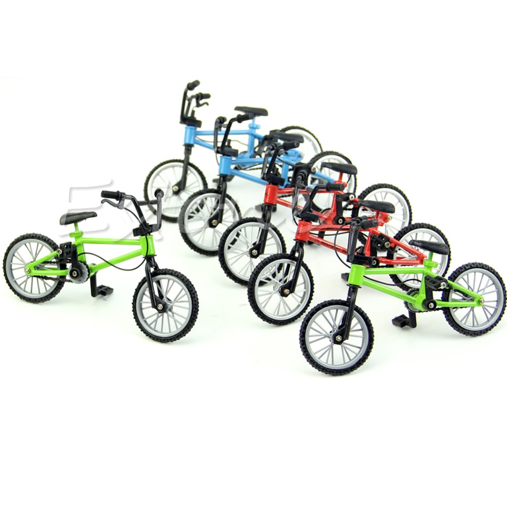 New Functional Finger Mountain Bike BMX Fixie Bicycle Boy Toy Creative Game Gift in Mini Skateboards Bikes from Toys Hobbies