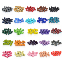 50pcs 10MM  Beads Crystal Disco Ball Spacer bracelet Clay 33 Color