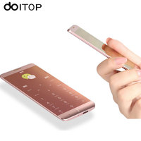 DOITOP A7 Untra thin Smart Phone 1.63 inch Touch Screen Dual Band Single SIM Cellphone Luxury Bluetooth Smartphone MP4 Player A3